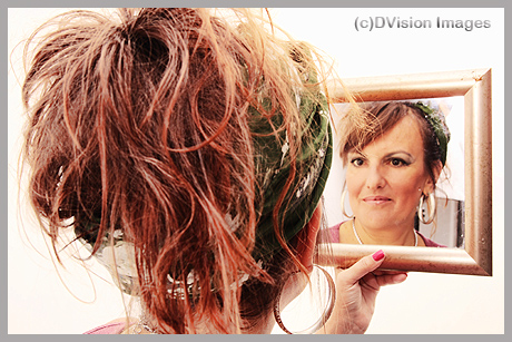 Mel and mirror
