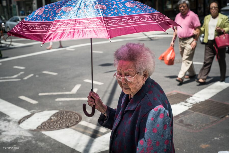 On the streets of China Town NYC.