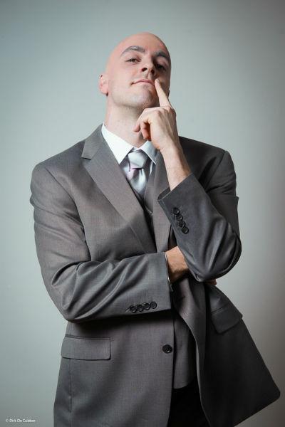 Guga Baul als Geert Hoste.