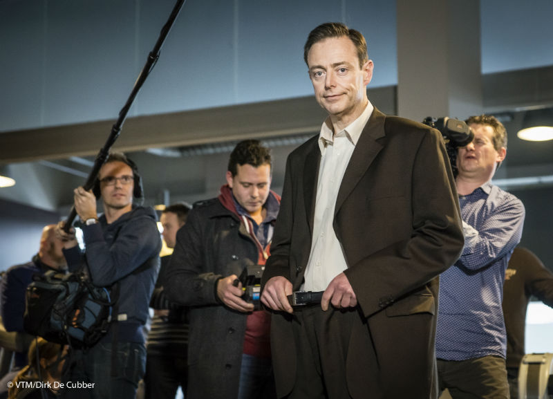 Bart De Wever behind the scene.