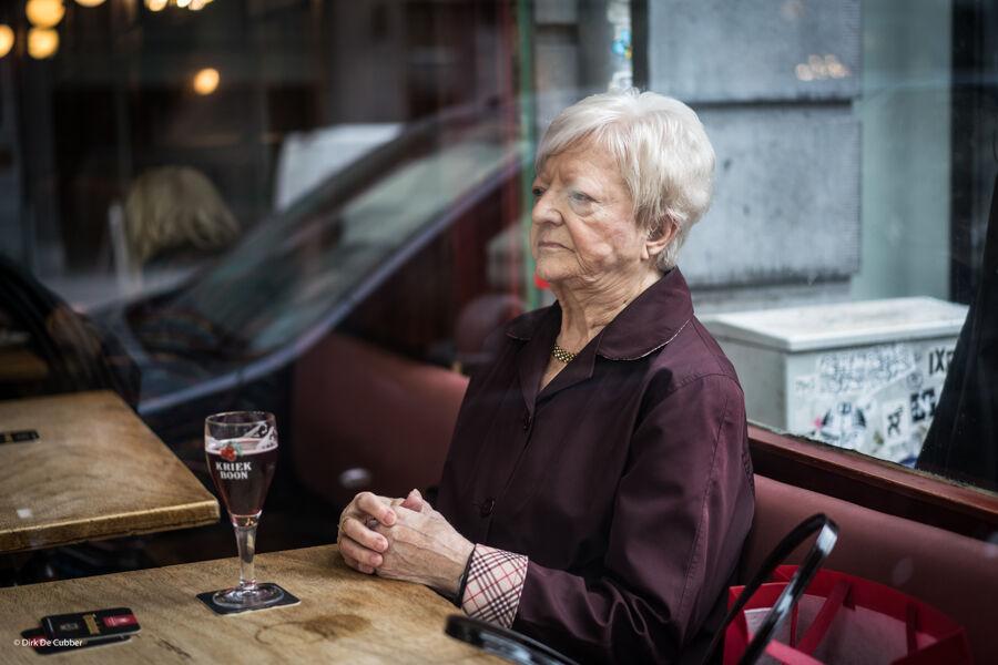 Café Le Coq. Brussels.