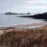 beach and fidra island