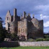 vintage dirleton castle