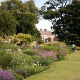 dirleton castle herbaceous border