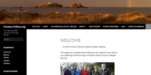 Friends of Yellowcraig website