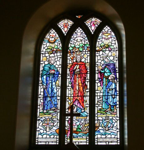 dirleton kirk stained glass