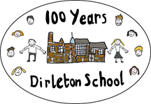 Dirleton school 100 years logo