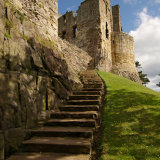 dirleton castle steps