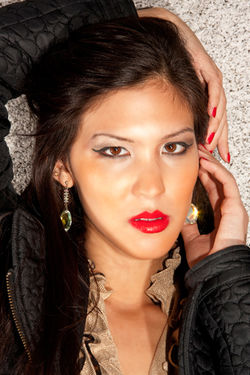 Kamara Jewellery Promotional Look book shoot around London Town