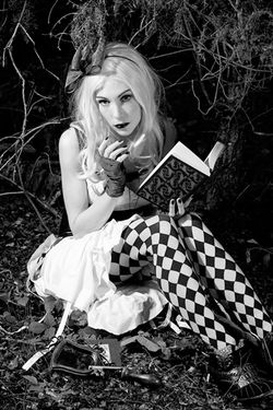 ALICE IN WONDERLAND WITH A TWIST