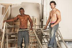 Gus and Chris Men at Work