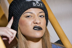 Katya Boy Clothing Line shoot (Make Up by Justine Emma)