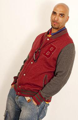 Guglielmo wearing American Apparel wear Look book shoot