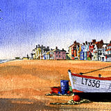 Aldeburgh Beach & Fishing Boat