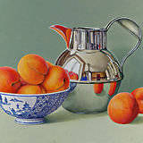 Apricots with a Silver Jug