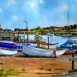 Boats and Jetties, Blackshore, Southwold