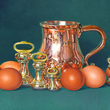 Copper, Brass and Brown Eggs