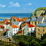 Houses at Staithes