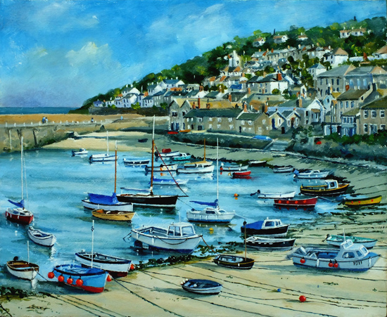 Little Boats, Mousehole, Cornwall