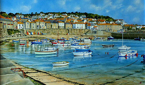 Fifty Boats at Mousehole