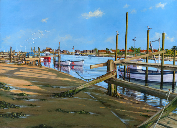 Old Jetties, Southwold Harbour