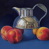 Peaches and a Cream Jug