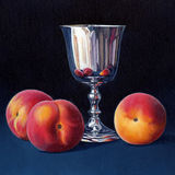 Peaches and a Silver Goblet