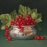 Redcurrants in a Little Bowl