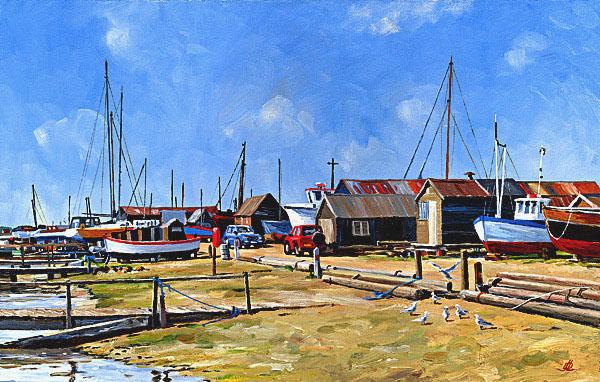 The Boatyard  Blackshore Southwold
