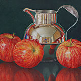 Three Apples and a Jersey Jug