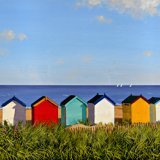 Twelve Beach Huts