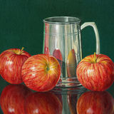 Three Apples and a Pewter Mug