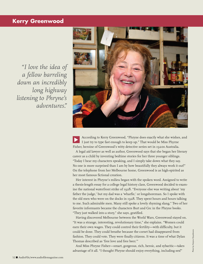 AudioFiles Magazine October-November 2012