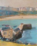 Laston House and Tenby pier