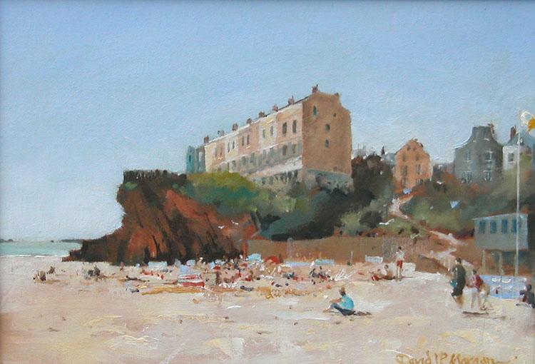 """Castle Beach Tenby"""