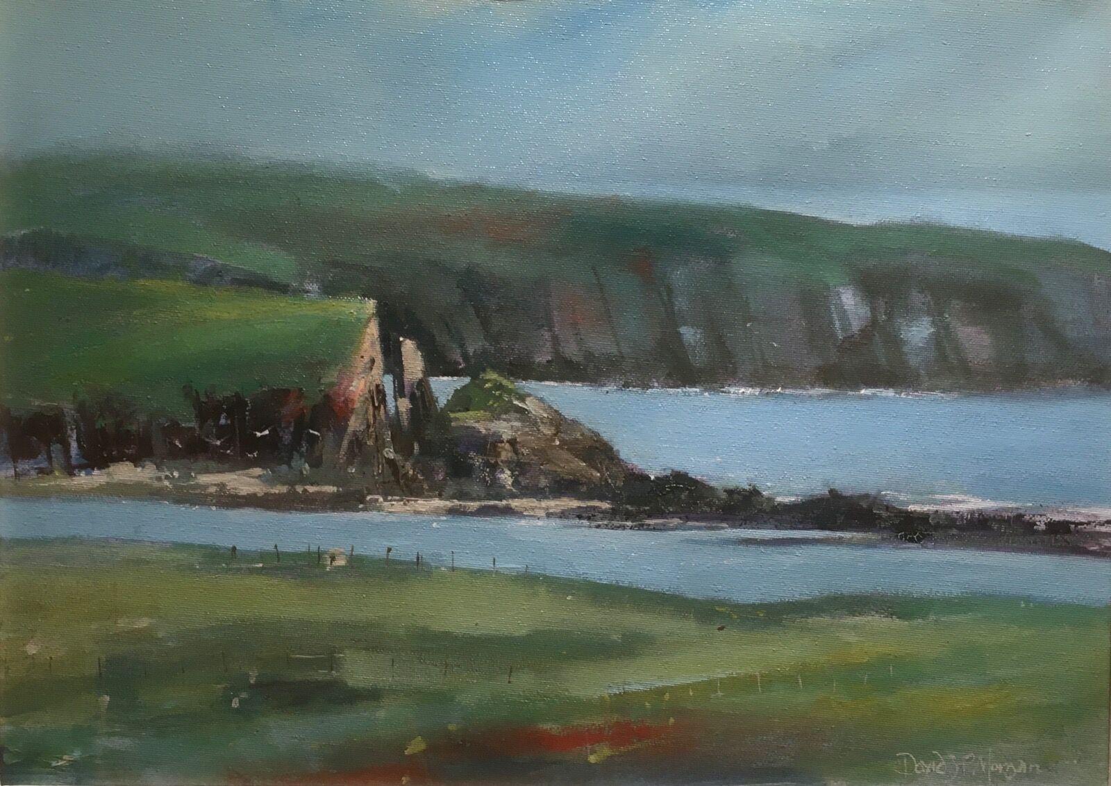 Low tide. - Little Sound, Caldey Island.