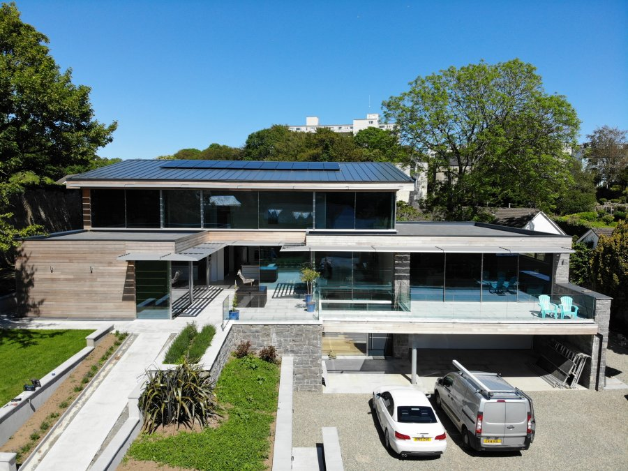 Contemporary New Build, Tenby