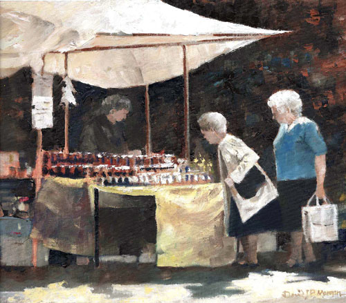 """Tenby Summer Market"""