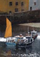the orange sail