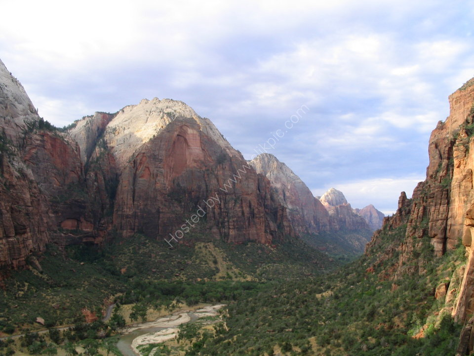 Zion Valley from Angel's Landing