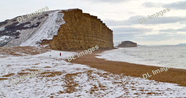West Bay in the snow