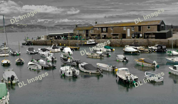 Fine art shot of Lyme Regis