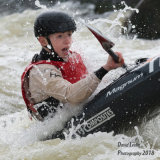Canoeing Action