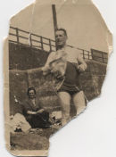 badly damaged photograph dated 1920