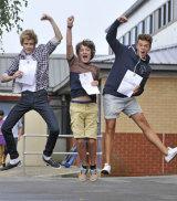 GCSE Results Celebration