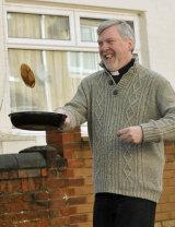 Pancake-Racing Vicar