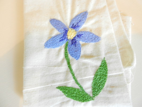 Daisy - Free Machine Embroidery