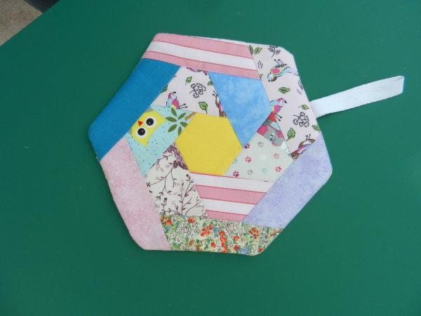Patchwork Pot Holder £5