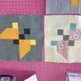 Butterfly - Block of the Month #1 at Sew Busy