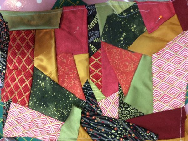 Crazy Patchwork at Sew Busy